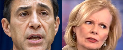 Darrel Issa and Peggy Noonan: one congressional chair, one pundit, and zero accountability for the phony IRS scandal