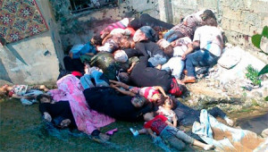 mass murder in syria