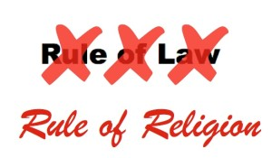 rule of religion