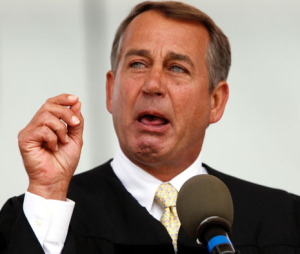 Weeper of the House, John Boehner