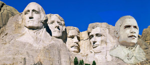 US Presidents, Mount Rushmore National Memorial. South Dakota, USA