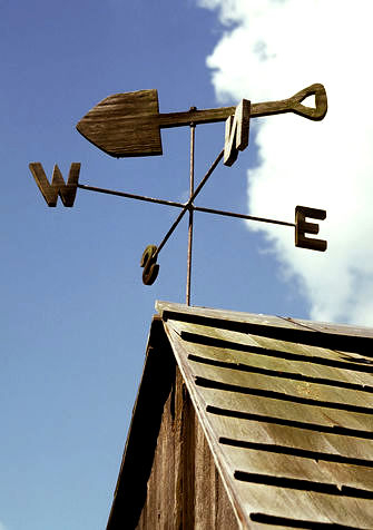 Shovel-Weathervane